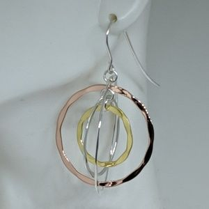 New Robert Lee Morris RLM Sterling Silver Earrings